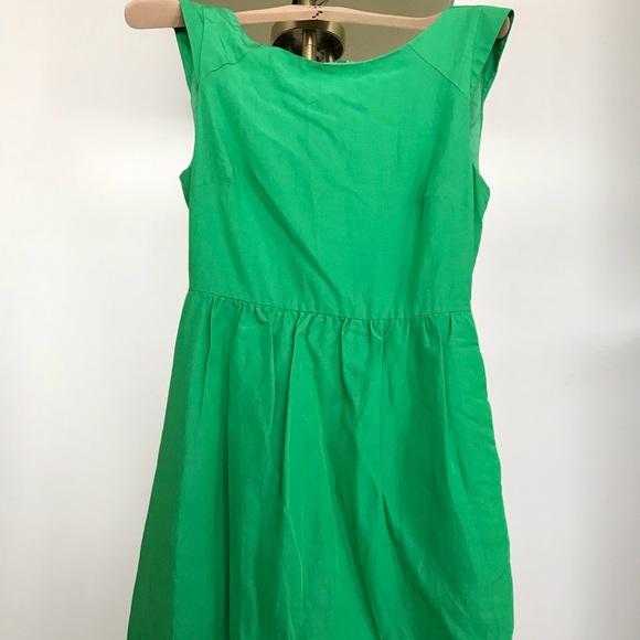 J. Crew Factory Dresses & Skirts | LIKE NEW JCrew Emerald Green ...